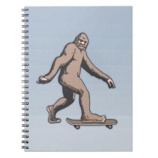 Bigfoot Skateboard Notebooks