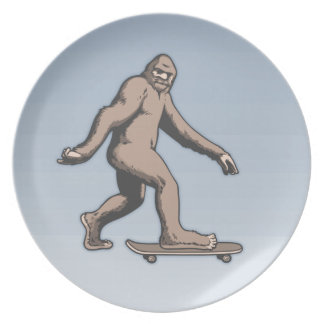 Bigfoot Skateboard Plate