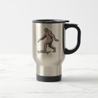 Bigfoot Skateboard Travel Mug