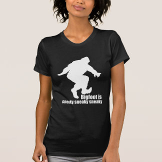 Bigfoot sneaky sneaky t-shirts