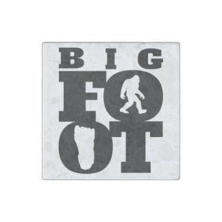 Bigfoot Stone Magnet