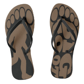 BigFoot Surfing Flip Flops