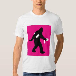 Bigfoot Surprised T Shirts