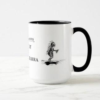 """Bigfoot vs. El Chupacabra"" mug"