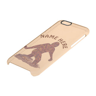 Bigfoot Walking Sasquatch iphone6 Squatchologist Clear iPhone 6/6S Case