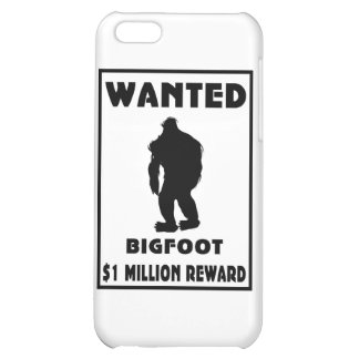 Bigfoot Wanted Poster iPhone 5C Cases