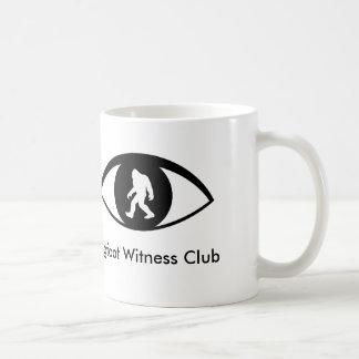 Bigfoot Witness Club Mug