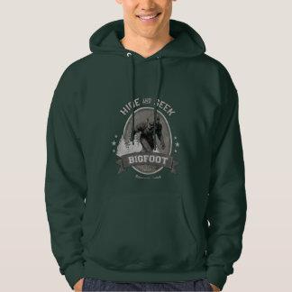 Bigfoot Yeti. Sasquatch. Retro, Vintage. Hoodie