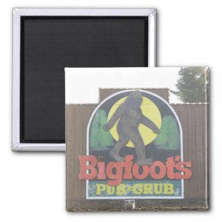 Bigfoot's Pub & Grill Magnet