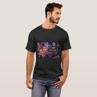 Bigg Ds Music Toss Up Mechanical T Shirt