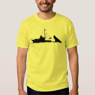 Bigger Boat Black Tee Shirts