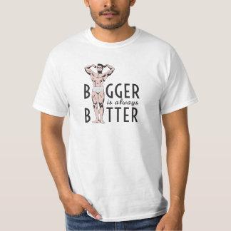 Bigger is always better with posing bodybuilder T-Shirt