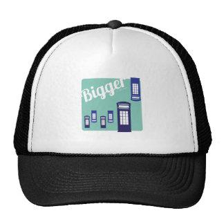 Bigger On The Inside Trucker Hats