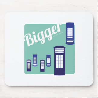 Bigger On The Inside Mousepad