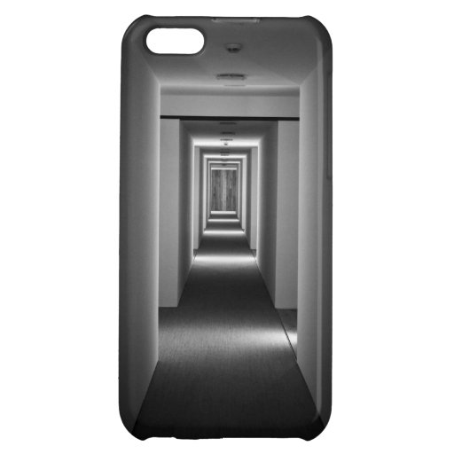 Bigger On The Inside Semi-Abstract Geometry Cover For iPhone 5C