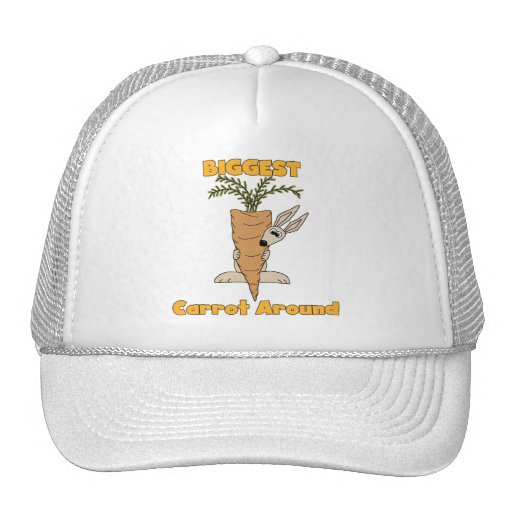 Biggest Carrot Around Tshirts and Gifts Mesh Hats