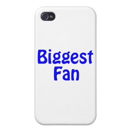 biggest fan cover for iPhone 4