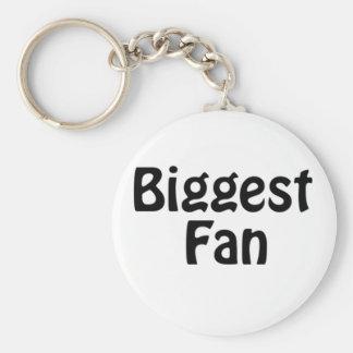 biggest fan key chains