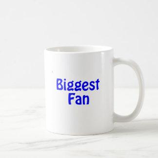 biggest fan coffee mugs