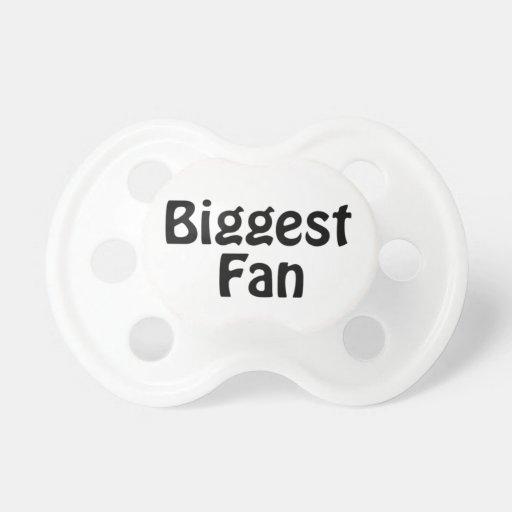 Biggest Fan pacifier