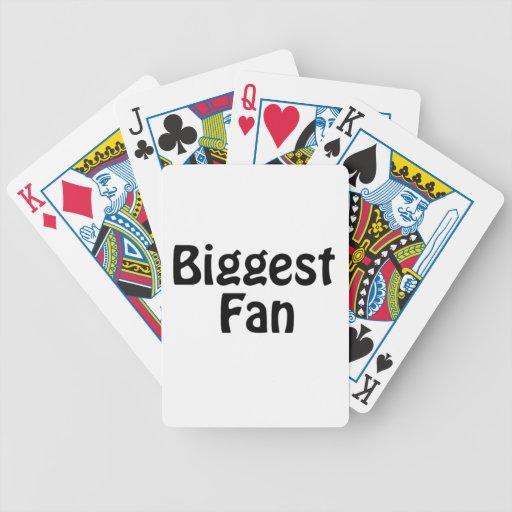 biggest fan card deck