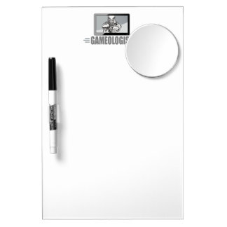 Biggest TV Football Fan! Humorous Gameologist Dry Erase Board With Mirror
