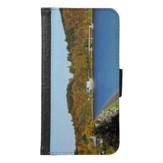 Biggetalsperre in the autumn samsung galaxy s6 wallet case