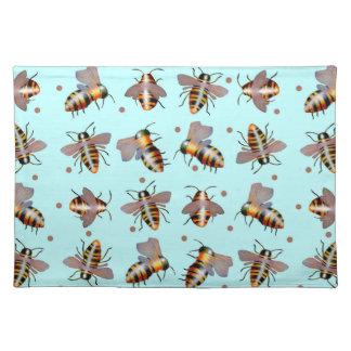 Biggie Bees Placemat Cloth Place Mat