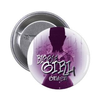 Biggie Girl Swagz Pinback Buttons