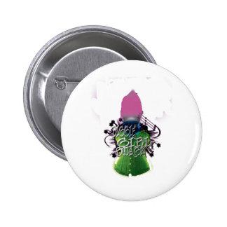 Biggie Girl Swagz Button