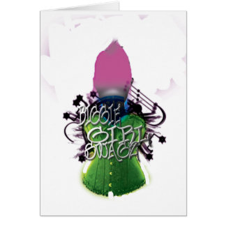 Biggie Girl Swagz Card