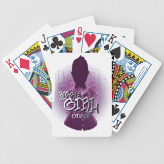 Biggie Girl Swagz Poker Cards