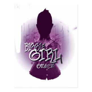 Biggie Girl Swagz Postcard