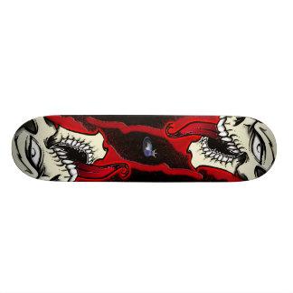 Biggie Skull Fro Custom Skateboard
