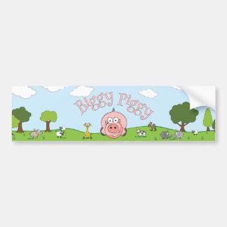 Biggy Piggy Sticker