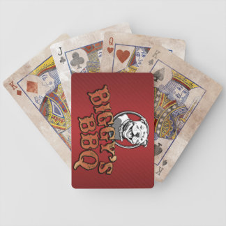 Biggy's BBQ Playing Cards