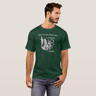 Bighorn. John Muir. There is a love of wild nature T-Shirt