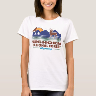 Bighorn National Forest Wyoming T-Shirt