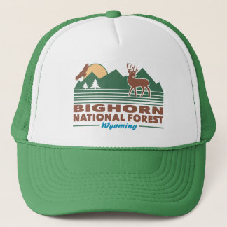 Bighorn National Forest Wyoming Trucker Hat