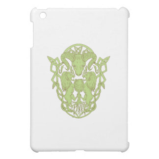 Bighorn Sheep Lion Tree Coat of Arms Celtic Knot iPad Mini Cover