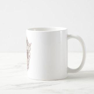 Bighorn Sheep Lion Tree Coat of Arms Celtic Knotwo Coffee Mug