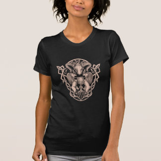 Bighorn Sheep Lion Tree Coat of Arms Celtic Knotwo T-Shirt