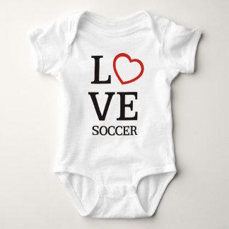 BigLOVE Soccer Baby Bodysuit