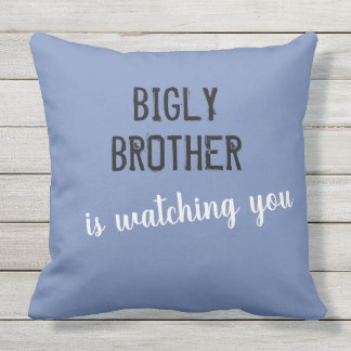 Bigly brother is watching you cushion