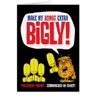 Bigly trump card