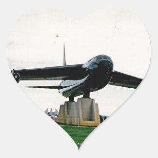 bigplane.jpg on display in Alabama Heart Sticker