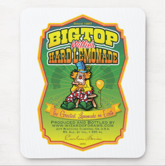 Bigtop Willie's Hard Lemonade Mouse Pad