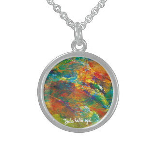 Bij-clouds Sterling Silver Necklace
