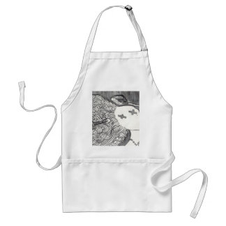 Bijini Art Print 2 Dead Lady with the Pointed Hat Aprons