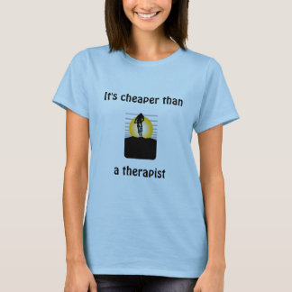 bike2, It's cheaper thana therapist T-Shirt
